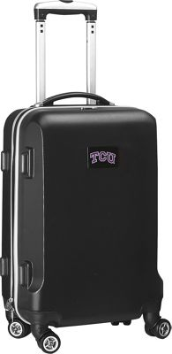 "Denco Sports Luggage NCAA Texas Christian University 20"""" Hardside Domestic Carry-on Spinner Texas Christian University Horned Frogs - Denco Sports Luggage Softside Carry-On"
