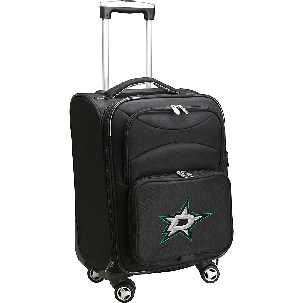 Denco Sports Luggage NHL Dallas Stars 20 Domestic Carry-On Spinner Dallas Stars - Denco Sports Luggage Softside Carry-On - Luggage, Softside Carry-On