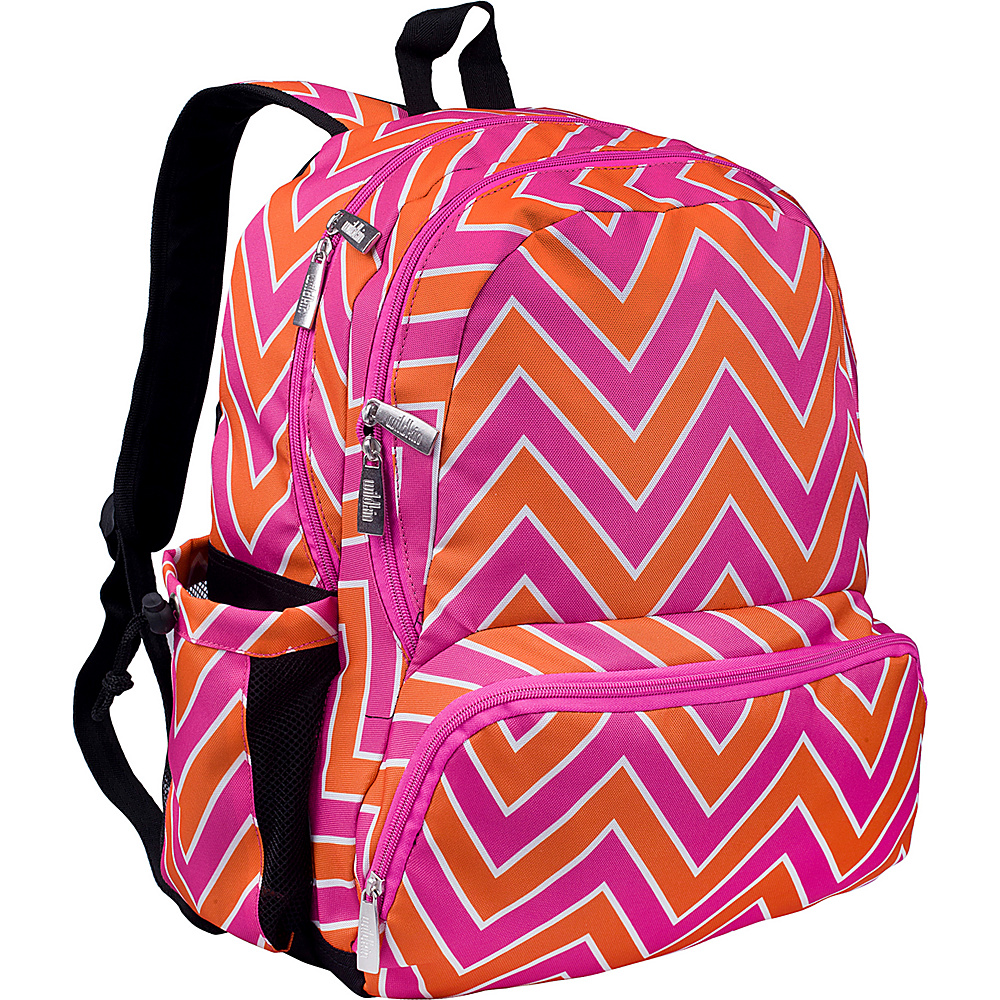 Wildkin Megapak Backpack Zigzag Pink Wildkin Everyday Backpacks