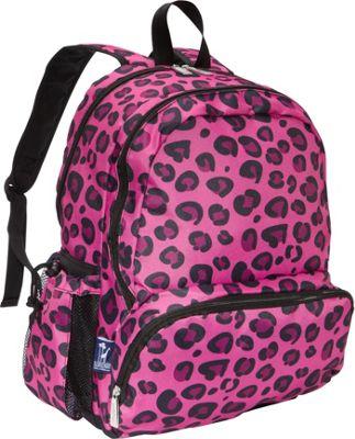 Wildkin Megapak Backpack Pink Leopard - Wildkin Everyday Backpacks