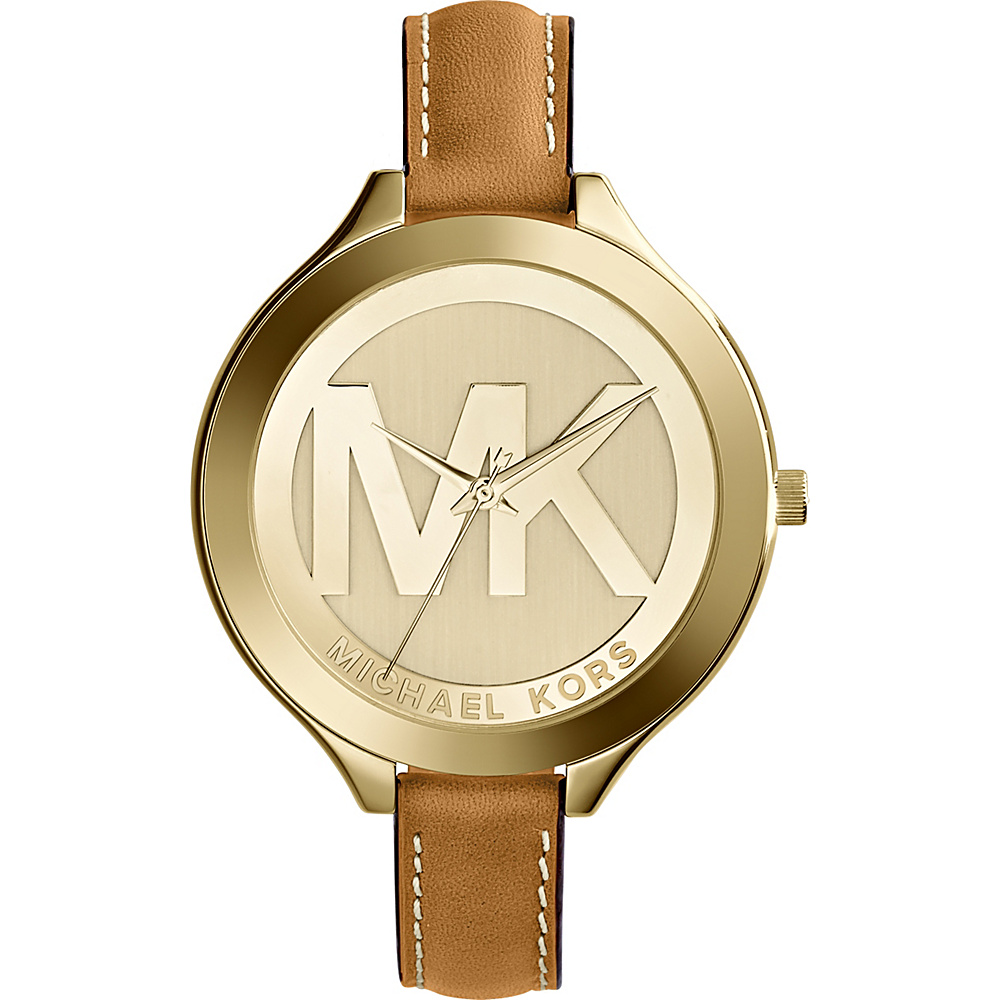 Michael Kors Watches Slim Runway Women's Watch Dark Brown - Michael Kors Watches Watches