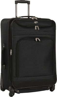 Travel Gear Spectrum II 29 inch Expandable Upright BLACK/BLACK - Travel Gear Softside Checked