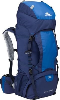 High Sierra Explorer 55 True Navy/Royal/True Navy - High Sierra Day Hiking Backpacks
