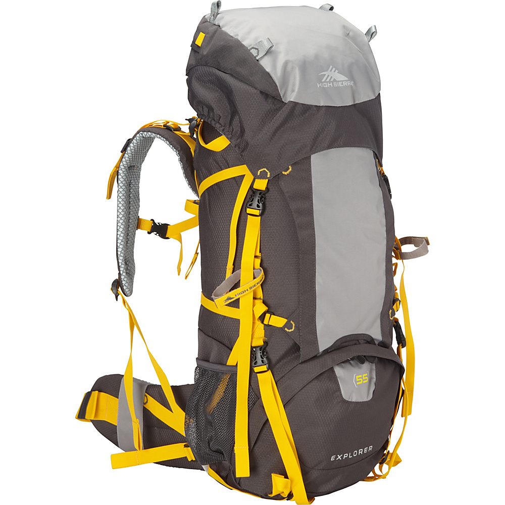 High Sierra Explorer 55 Mercury Ash Yell O High Sierra Day Hiking Backpacks