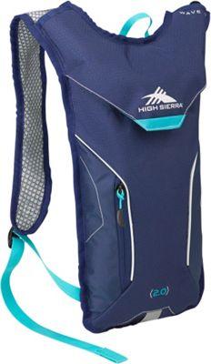 High Sierra Women's Wave 70 True Navy/True Navy/Tropic Teal - High Sierra Hydration Packs and Bottles