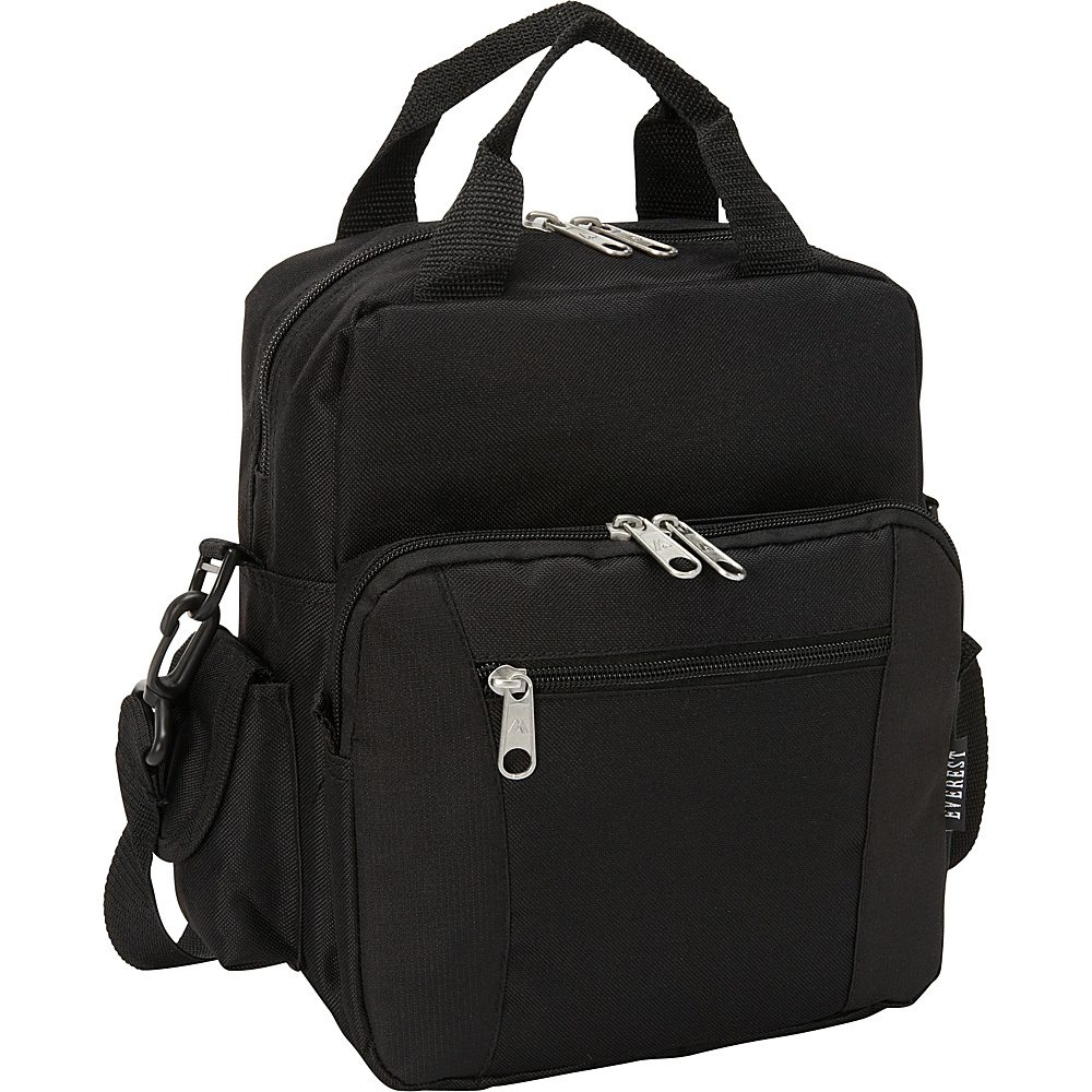 Everest Deluxe Utility Bag Black - Everest Men's Bags