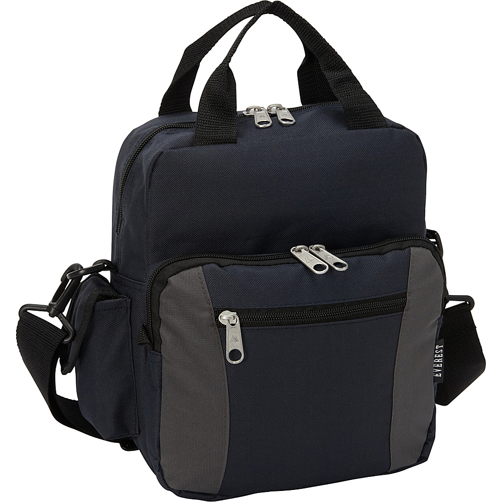 Everest Deluxe Utility Bag Navy/Charcoal - Everest Men's Bags