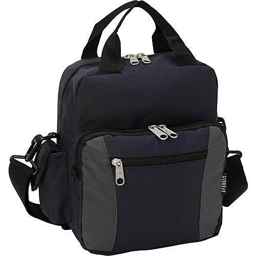 Everest Deluxe Utility Bag Navy/Charcoal - Everest Men's Bags