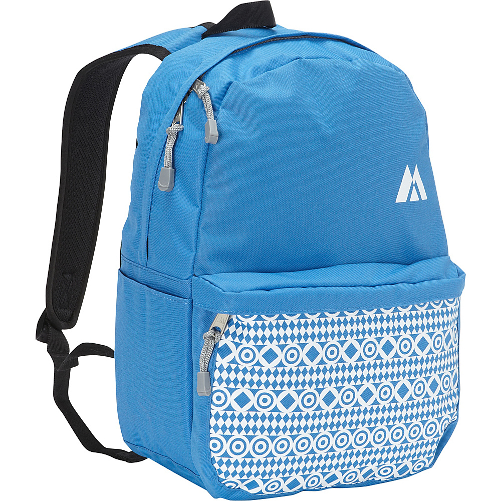Everest Printed Pattern Backpack Royal Blue Everest Business Laptop Backpacks