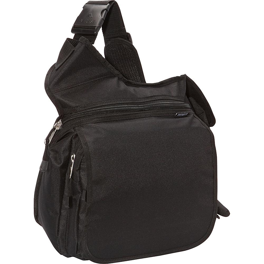 Everest Messenger Bag - Large Black - Everest Messenger Bags - Work Bags & Briefcases, Messenger Bags
