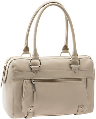 Baggs Piper Satchel Stone - Baggs Leather Handbags