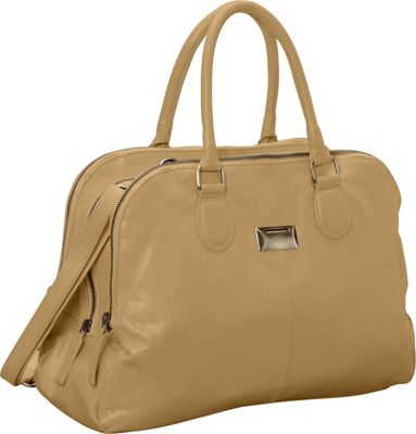 Latico Leathers Ines Tote Almond - Latico Leathers Leather Handbags