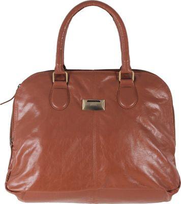 Latico Leathers Ines Tote Cognac - Latico Leathers Leather Handbags