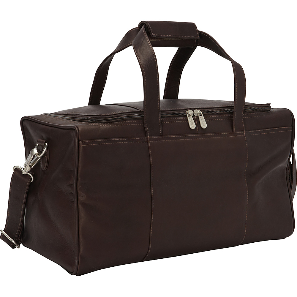 Piel Travelers Select XS Duffel Bag Chocolate - Piel Travel Duffels - Duffels, Travel Duffels
