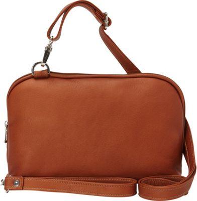 Piel Cross Body Carry-All Saddle - Piel Leather Handbags