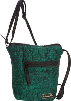 Donna Sharp Penny Bag - Quilted Jade - Donna Sharp Fabric Handbags
