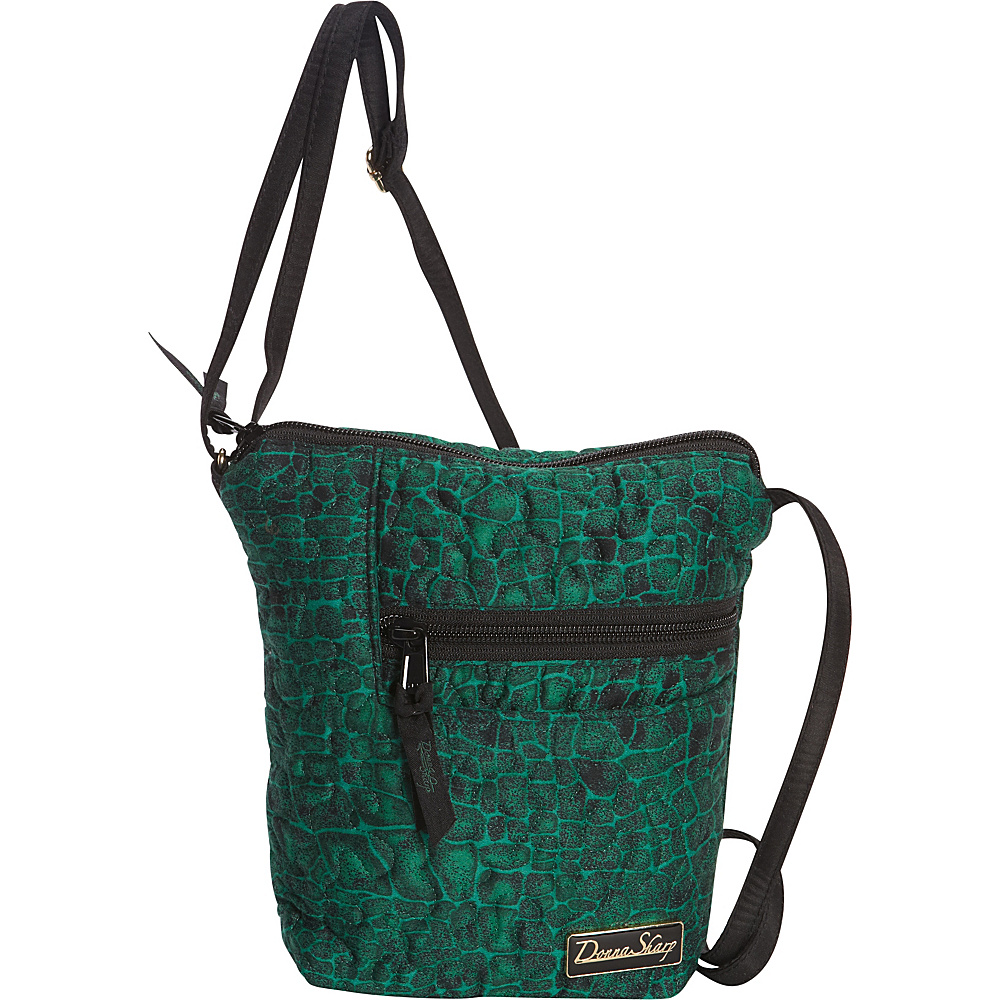 Donna Sharp Penny Bag Quilted Jade Donna Sharp Fabric Handbags