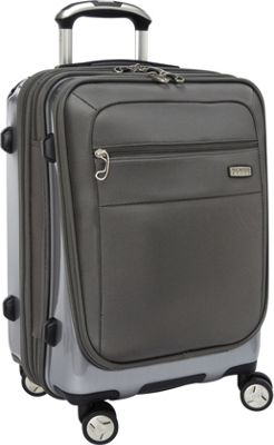 Ricardo Beverly Hills Ricardo Beverly Hills Roxbury 2.0 19-Inch 4 Wheel Hybrid Wheelaboard Brushed Silver - Ricardo Beverly Hills Softside Carry-On
