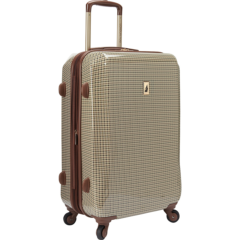 "Kenlo Chelsea 24"" Expandable Hardside Spinner Olive Plaid - Kenlo Hardside Luggage"