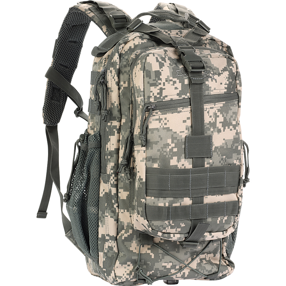 Red Rock Outdoor Gear Summit Pack ACU Camouflage Red Rock Outdoor Gear Day Hiking Backpacks
