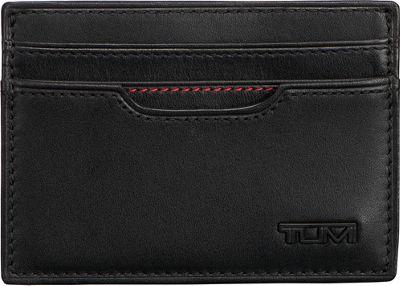 Tumi Delta Money Clip Card Case Black - Tumi Men's Wallets