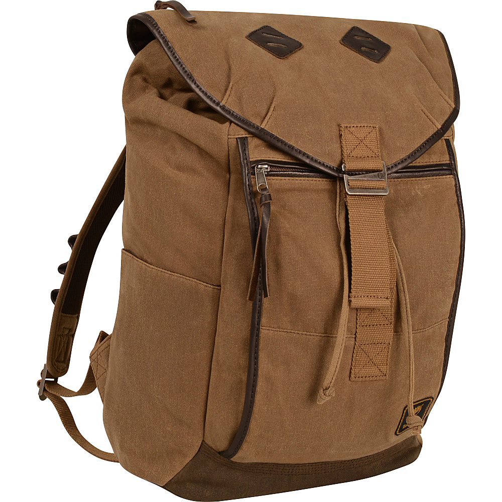 Timberland Mt. Madison Casual Backpack Tan Brown Timberland Business Laptop Backpacks