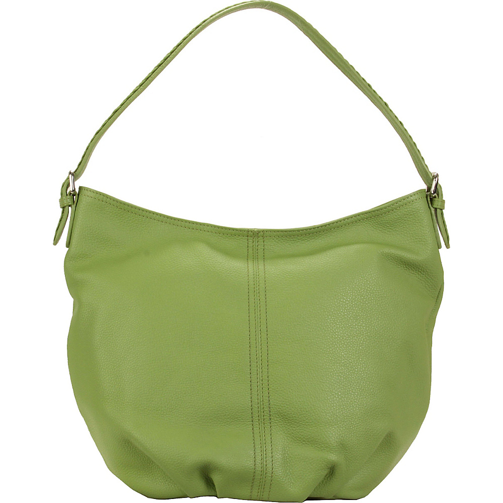 Hadaki Slouchy Hobo Piquat Green - Hadaki Leather Handbags - Handbags, Leather Handbags