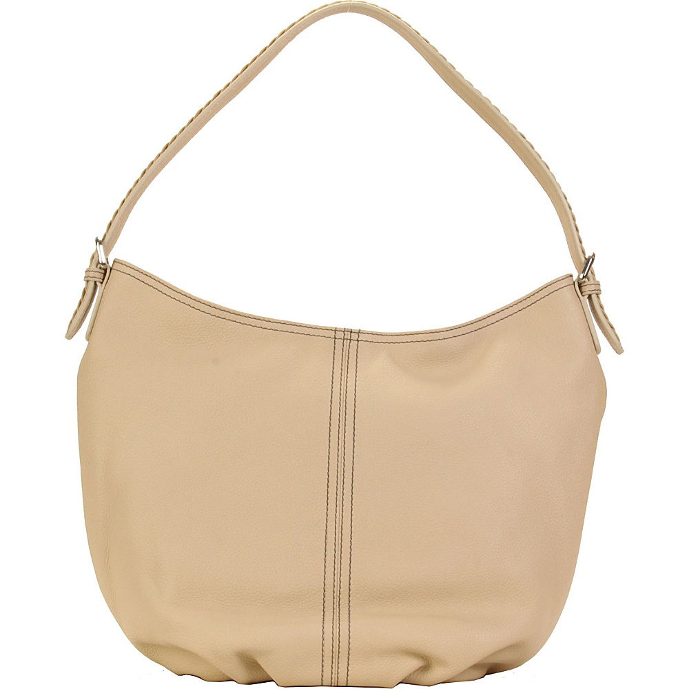 Hadaki Slouchy Hobo Semolina - Hadaki Leather Handbags - Handbags, Leather Handbags
