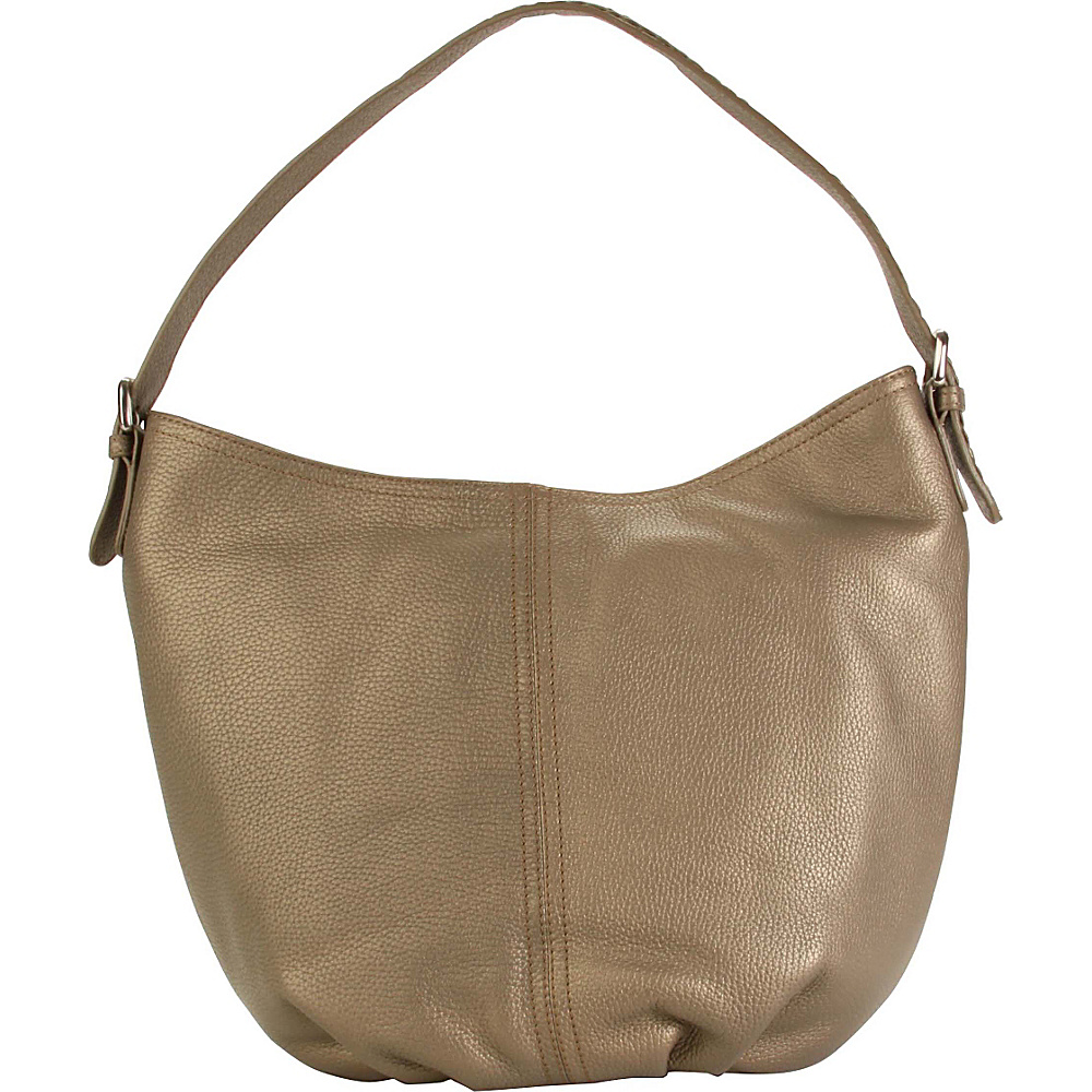 Hadaki Slouchy Hobo Bronze - Hadaki Leather Handbags - Handbags, Leather Handbags