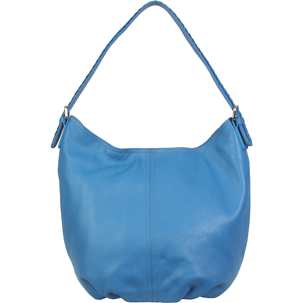 Hadaki Slouchy Hobo Deep Water - Hadaki Leather Handbags - Handbags, Leather Handbags