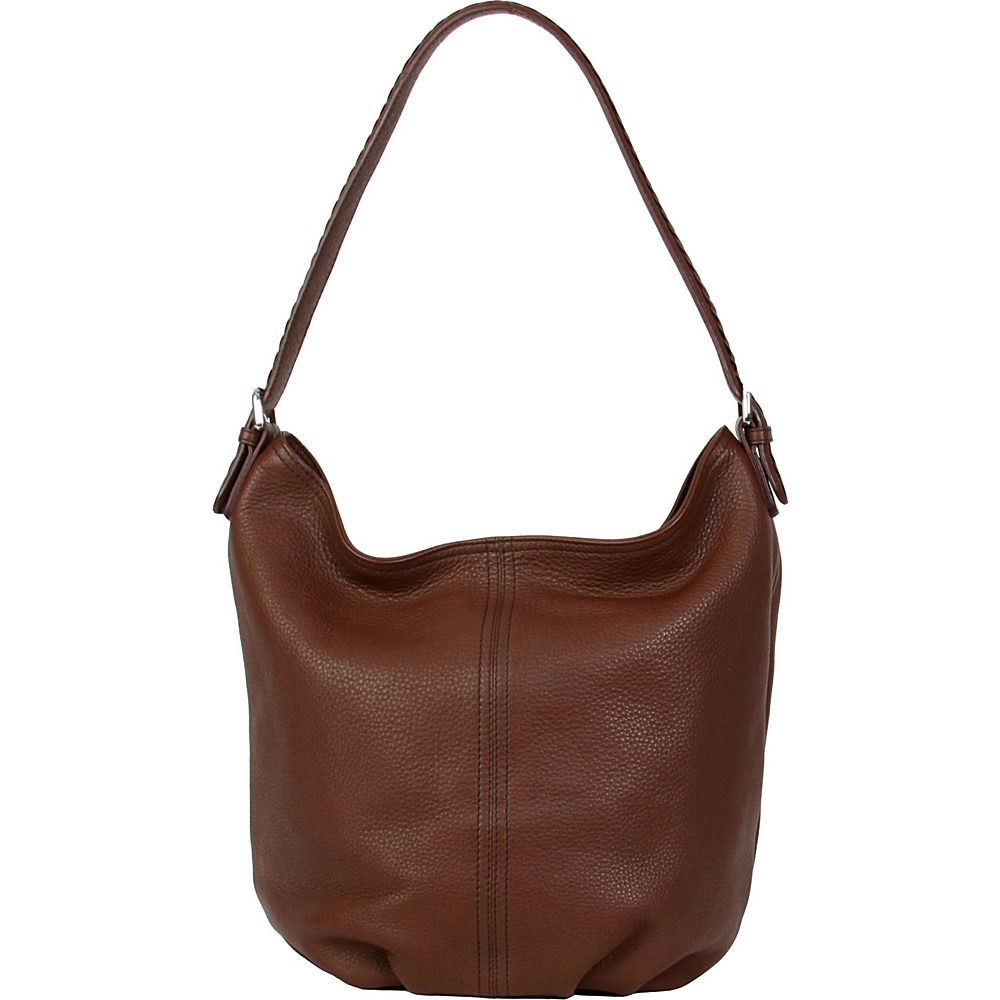 Hadaki Slouchy Hobo Cognac - Hadaki Leather Handbags - Handbags, Leather Handbags