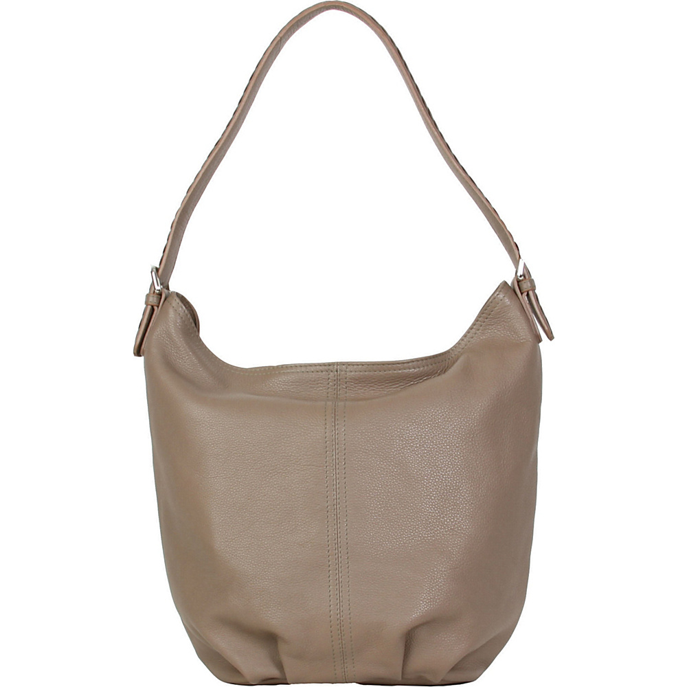 Hadaki Slouchy Hobo Taupe - Hadaki Leather Handbags - Handbags, Leather Handbags