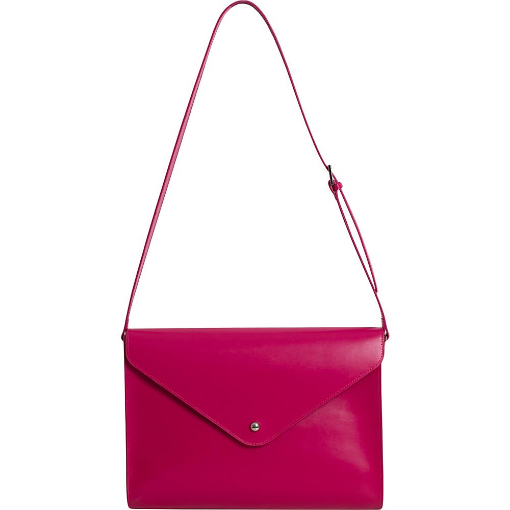 Paperthinks Large Envelope Bag Rubine Red Paperthinks Leather Handbags