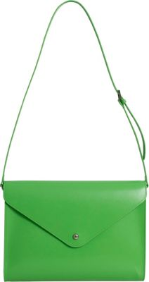 Paperthinks Large Envelope Bag Mint - Paperthinks Leather Handbags