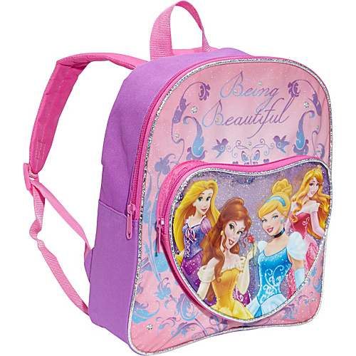 "Disney Princess 12"" Backpack Pink - Disney School & Day Hiking Backpacks"