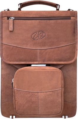 MacCase Premium Leather Briefcase- Fully Optioned Vintage - MacCase Non-Wheeled Business Cases