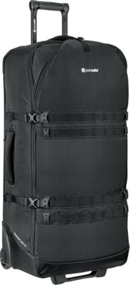 Pacsafe Toursafe EXP34 Wheeled Duffel Black - Pacsafe Travel Duffels