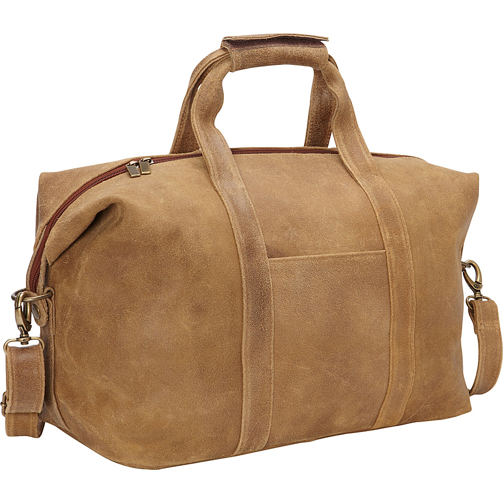 Le Donne Leather Dikro Getaway Duffel Tan - Le Donne Leather Travel Duffels - Duffels, Travel Duffels
