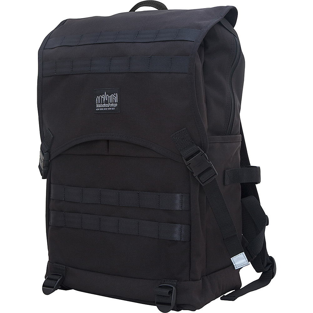 Manhattan Portage Fort Hamilton Backpack Black - Manhattan Portage Business & Laptop Backpacks - Backpacks, Business & Laptop Backpacks