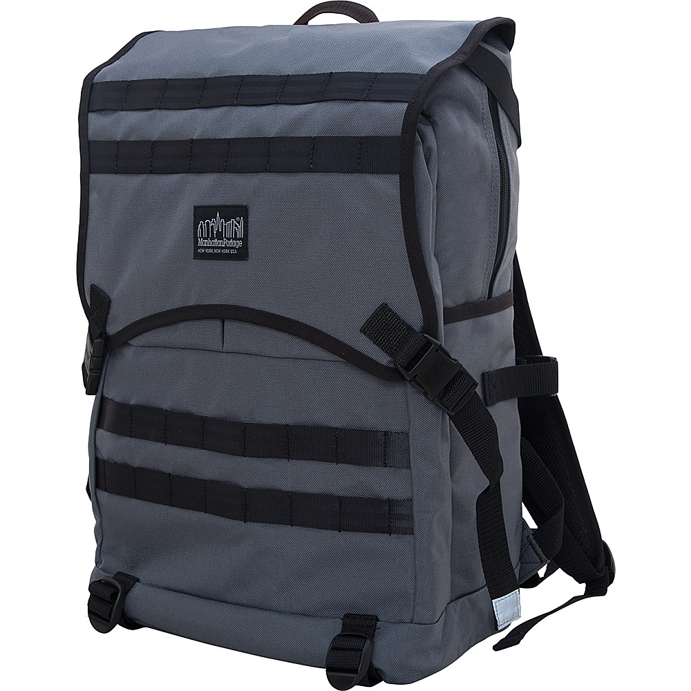 Manhattan Portage Fort Hamilton Backpack Gray - Manhattan Portage Business & Laptop Backpacks - Backpacks, Business & Laptop Backpacks