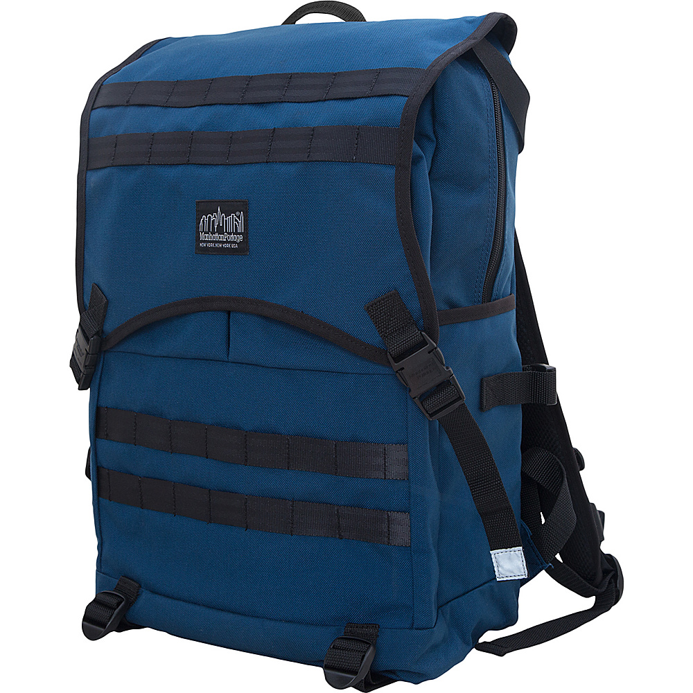 Manhattan Portage Fort Hamilton Backpack Navy Manhattan Portage Business Laptop Backpacks