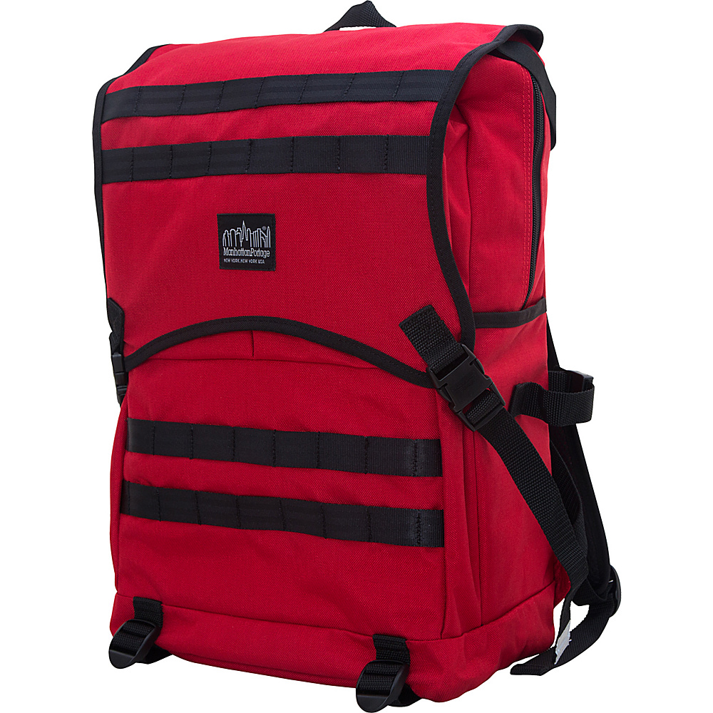Manhattan Portage Fort Hamilton Backpack Red Manhattan Portage Business Laptop Backpacks