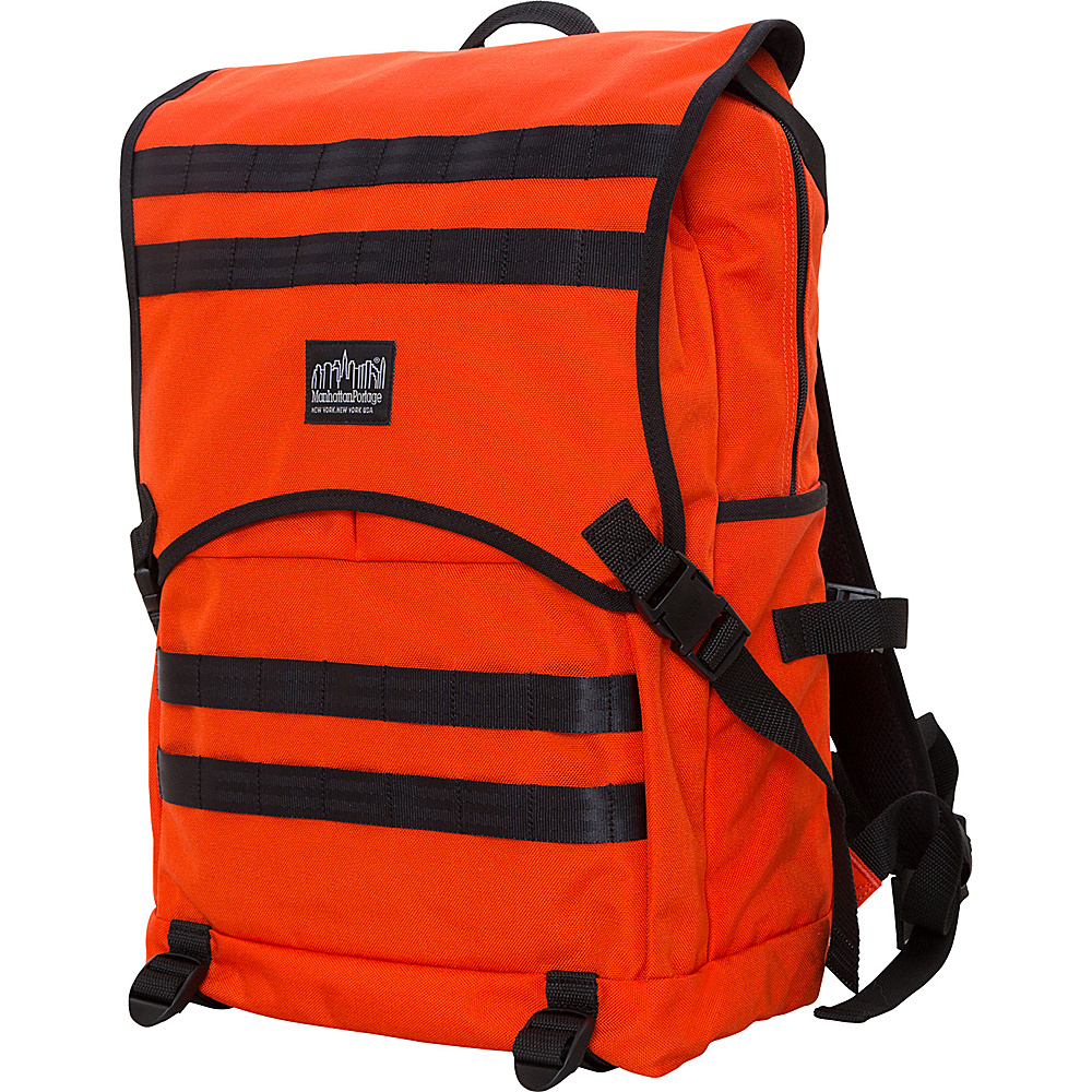 Manhattan Portage Fort Hamilton Backpack Orange - Manhattan Portage Business & Laptop Backpacks - Backpacks, Business & Laptop Backpacks