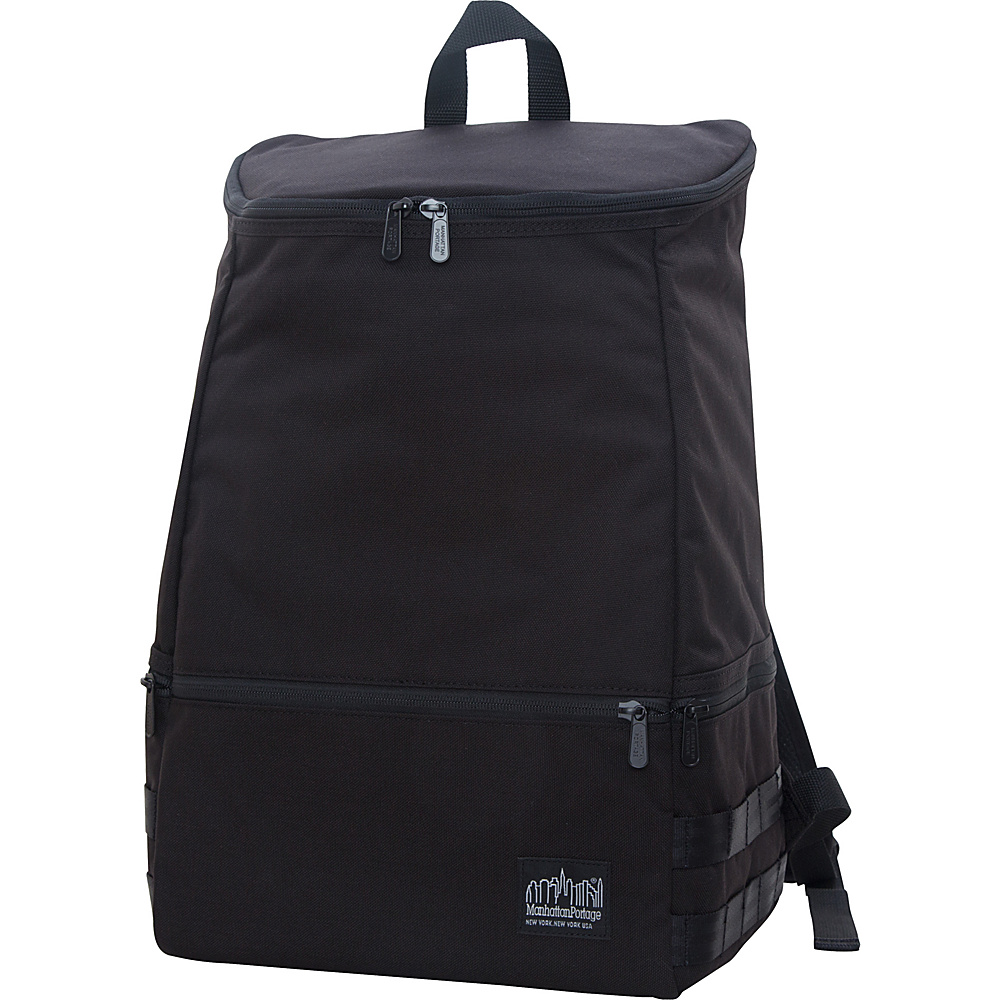 Manhattan Portage North End Backpack Black - Manhattan Portage Business & Laptop Backpacks - Backpacks, Business & Laptop Backpacks