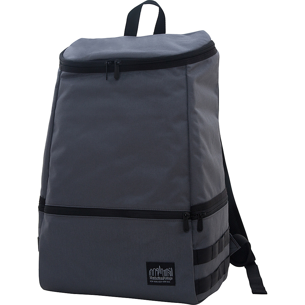 Manhattan Portage North End Backpack Gray - Manhattan Portage Business & Laptop Backpacks - Backpacks, Business & Laptop Backpacks