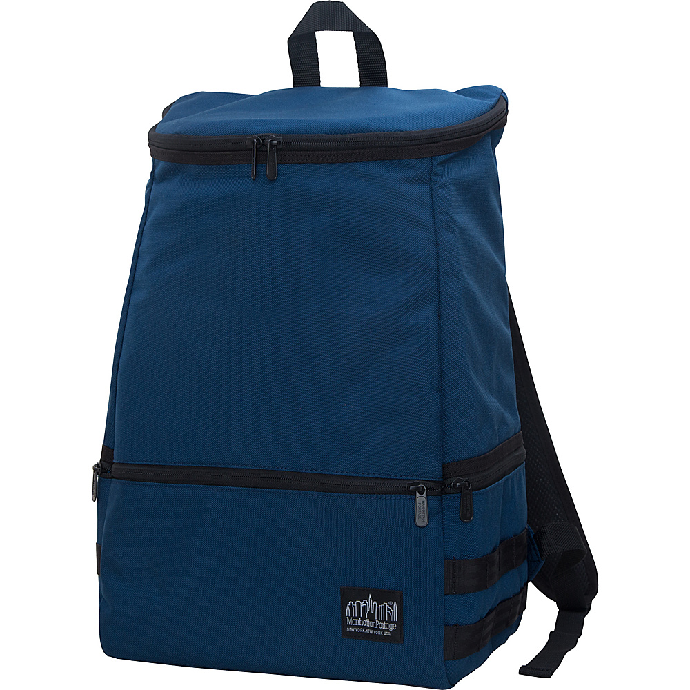 Manhattan Portage North End Backpack Navy - Manhattan Portage Business & Laptop Backpacks - Backpacks, Business & Laptop Backpacks