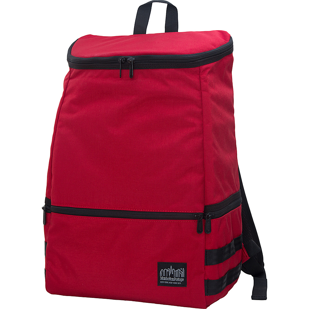 Manhattan Portage North End Backpack Red Manhattan Portage Business Laptop Backpacks