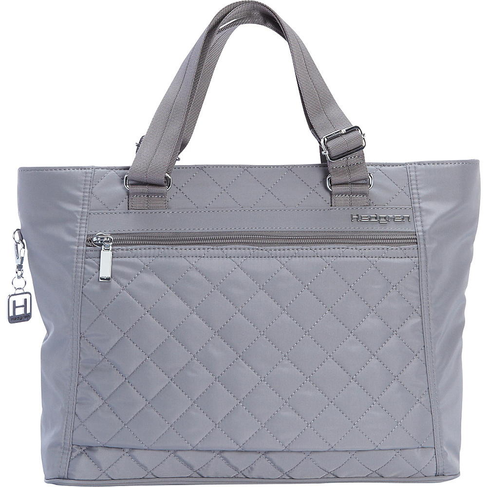 Hedgren Stella Laptop Tote Mouse Grey Hedgren Women s Business Bags