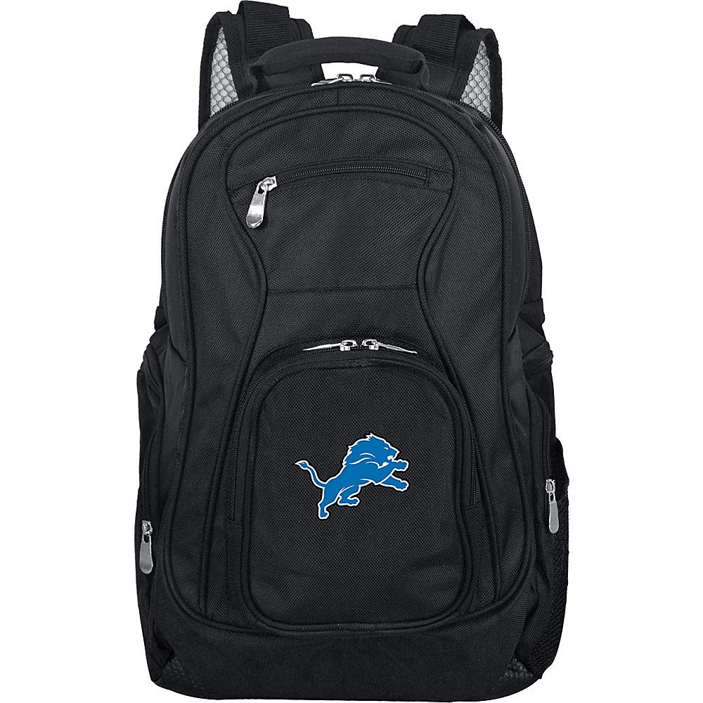 "Denco Sports Luggage NFL 19"" Laptop Backpack Detroit Lions - Denco Sports Luggage Business & Laptop Backpacks"