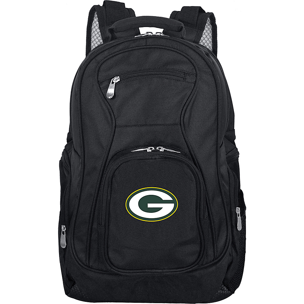 "Denco Sports Luggage NFL 19"" Laptop Backpack Green Bay Packers - Denco Sports Luggage Business & Laptop Backpacks"